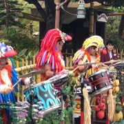 Musiker sorgen für Stimmung im Adventureland