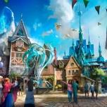 Stimmung am Fuße von Elsas Eisschloss