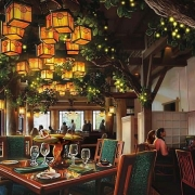 Storybook Dining Konzeptzeichnung