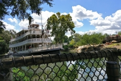 Riverboats im Frontierland