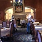 Speisesaal in der Auberge de Cendrillon