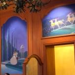 Wandgemälde der Auberge de Cendrillon
