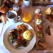 Frühstück in der Auberge de Cendrillon im Überblick