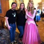 Prinzessin Aurora in der Auberge de Cendrillon