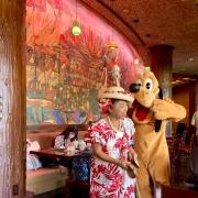 Frühstück - Aunty & Pluto