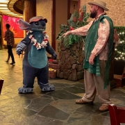 Abendessen - Uncle und Stitch
