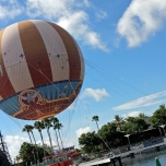 Panoramaballon in Walt Disney World