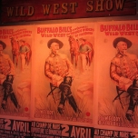 Plakate der Buffalo Bill\'s Wild West Show