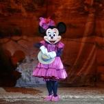 Minnie Mouse in der Buffalo Bill\'s Wild West Show