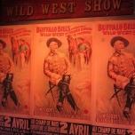 Plakate der Buffalo Bill\'s Wild West Show
