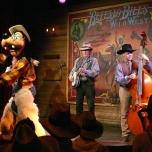Goofy und Country-Band