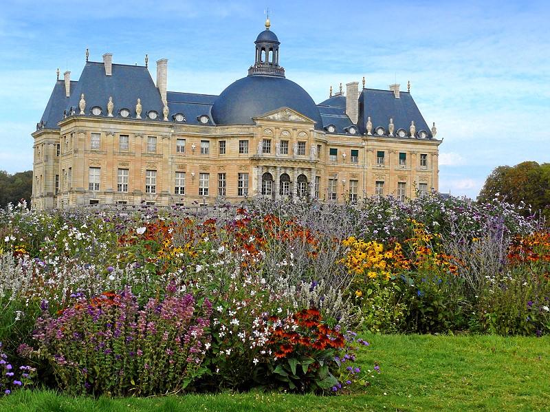 Das Schloss Chateau Vaux-le-Vicomte in Maincy / Seine et Marne