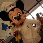 Mickey Mouse trifft den Chef