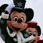 Mickey grüßt das Publikum