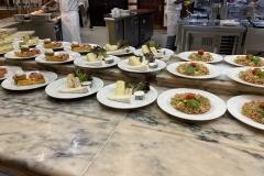 Gerichte im Plaza Garden