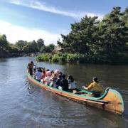 Eine entspannte Fahrt mit dem Kanu