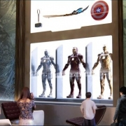 Superhelden im Display im Marvel Art Hotel