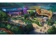 Ebenfalls in den Hollywood Studios eröffnet bereits 2018 Toy Story Playland