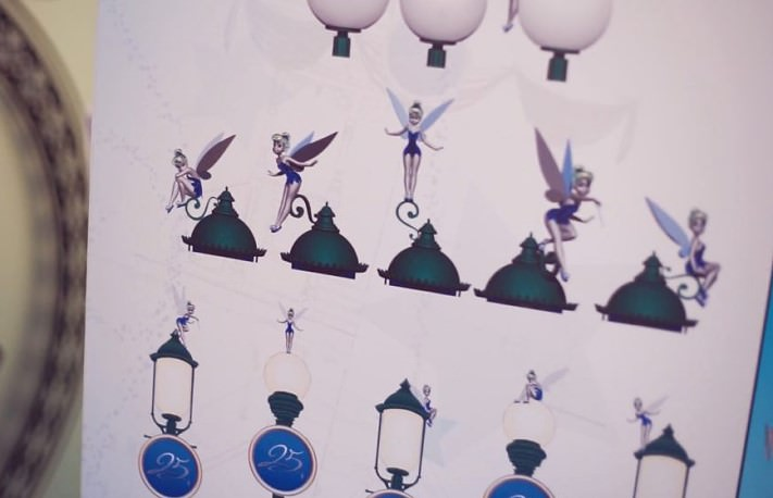 Die Dekoration Zum 25 Geburtstag Des Disneyland Paris Dein Dlrp