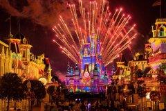 Feuerwerk im Magic Kingdom