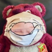 Grumpy Maske