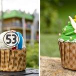 Den Herbie und Tinkerbell Cupcake bekommt man in den All-Star Resorts. Sieht lecker aus, oder?
