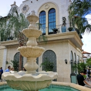 Springbrunnen in Disney Springs