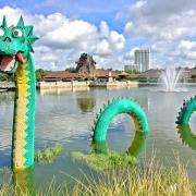 Lego Figur in Disney Springs
