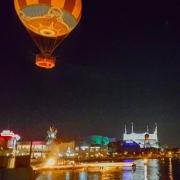 Panoramaballon über Disney Springs
