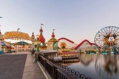 Pixar Pier at Disney California Adventure Park - Disneyland Resort - 1/4/19. (Joshua Sudock/Disneyland Resort)