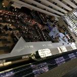 Blick auf die Monorail