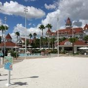 Außenbereich des Grand Floridian Hotels