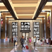 Konzeptzeichnung der Lobby