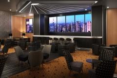 Skyline Bar mit Blick auf New York