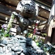 Statue in der Lobby