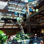 Hotellobby im Polynesian