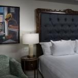 Der Schlafbereich des neuen Resorts