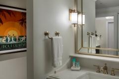 Der Toilettenbereich im Riviera Resort