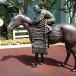 Reiter-Statue