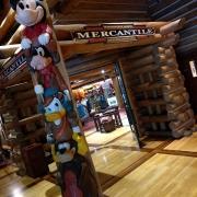 Eingang zum Hotelshop