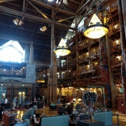 Lobby der Wilderness Lodge