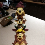 Disney Figur aus der Wilderness Lodge
