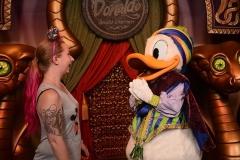 Donald Duck in Walt Disney World