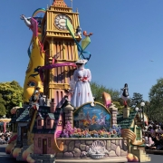 Mary Poppins in der Dreaming Up Parade