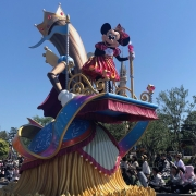 Minnie in der Dreaming Up Parade