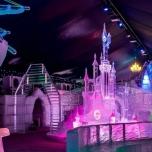 Märchenschloss aus Eis