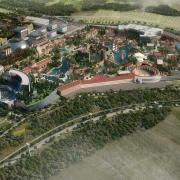 Der Themenpark von Elysium City