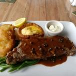 Steak & Fisch im Rose & Crown