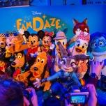 Disney Figuren beim FanDaze Event