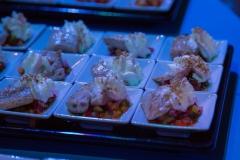 Essen beim Event